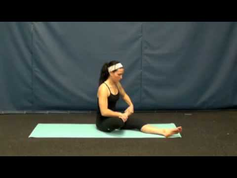 flexiblity yogahalf lotus seated pose  youtube