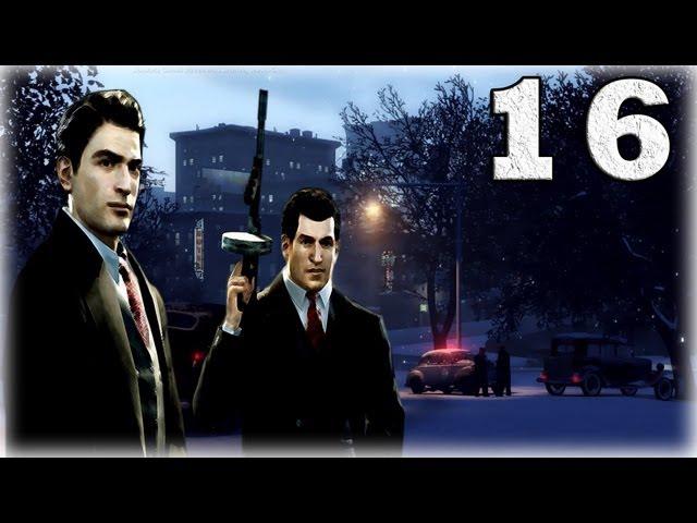 Смотреть прохождение игры Mafia 2. Серия 16 - О том, как Джо задницу надрали.