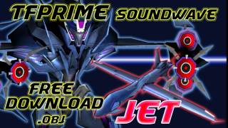 TFPRIME Soundwave Free Download .obj LINK!