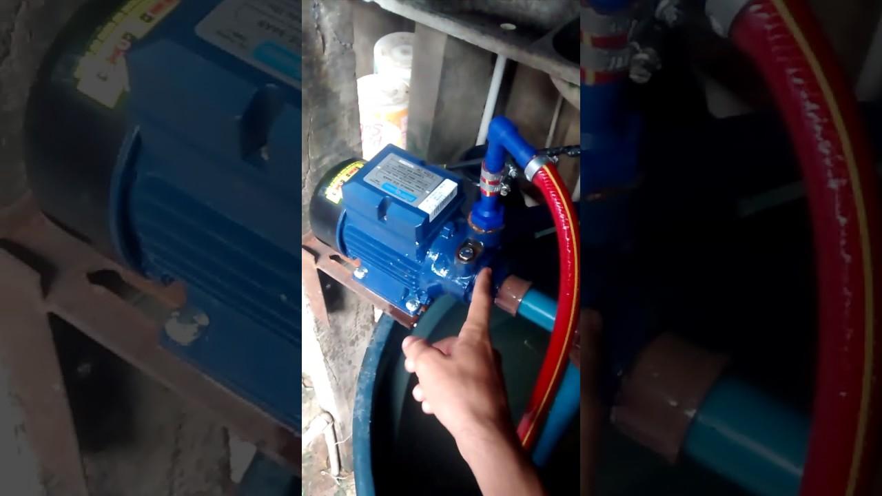 Como adaptar uma motobomba para uma mangueira de jardim comum
