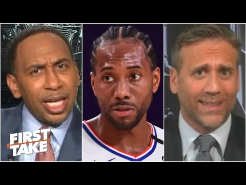 Stephen A. demands that Max apologizes for saying Kawhi is the best player in the world | First Take