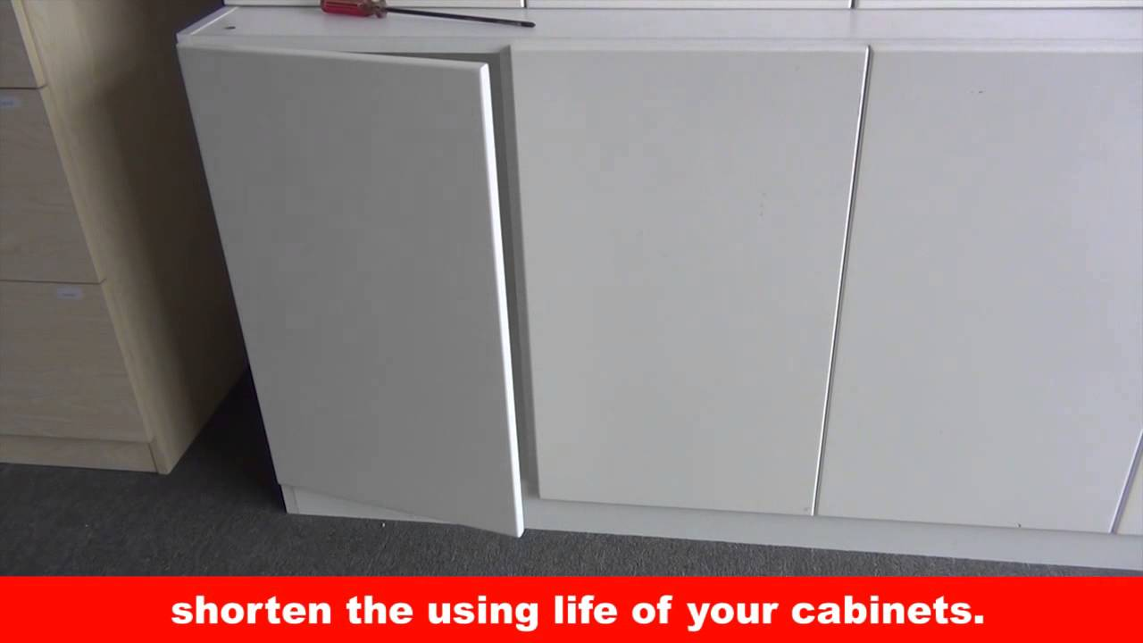 How To Adjust Soft Close Hinges Kav 165 Degree Cabinet Door Hinges