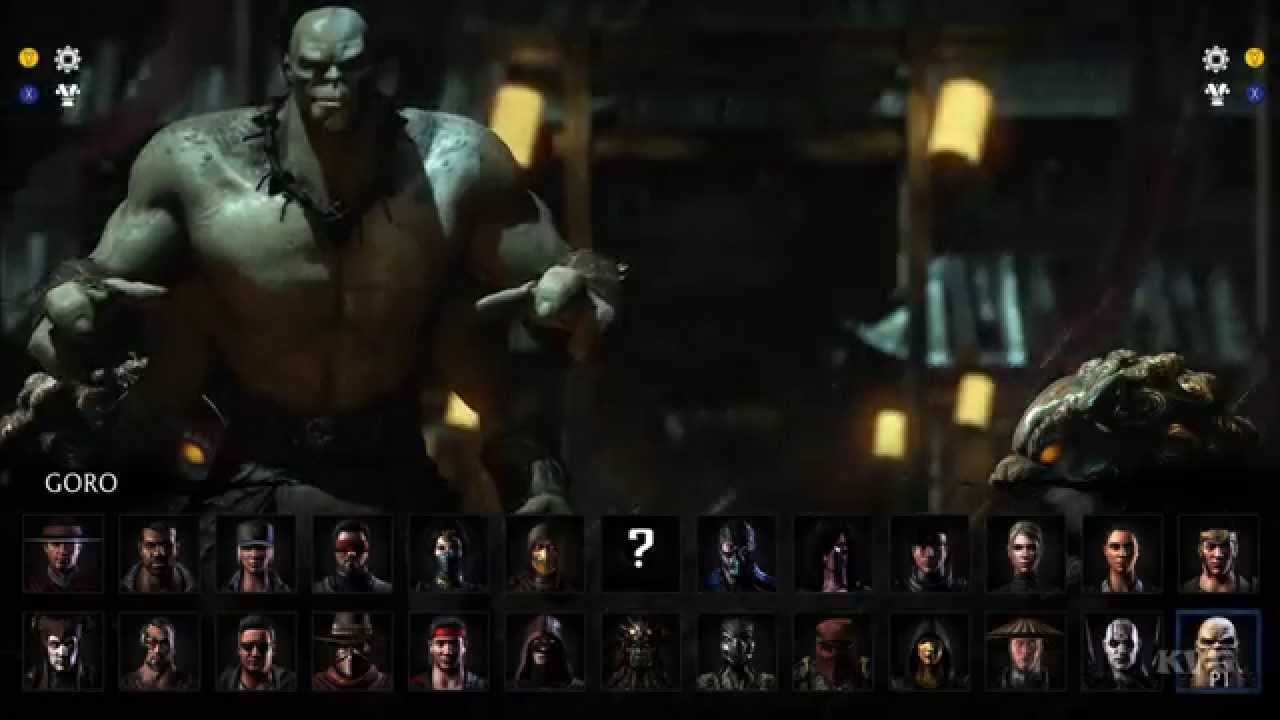 Mortal Kombat X All Characters Variations List Pc Hd