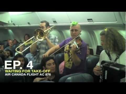 EP. 4 - Lemon Bucket Orkestra - Balkan Station Romanian Tour 2012