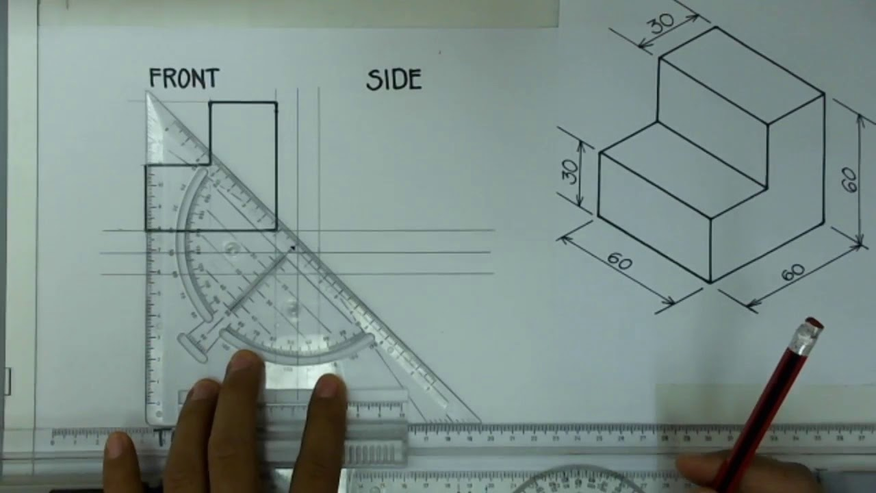 Download Exercise 1.1 Orthographic Drawing