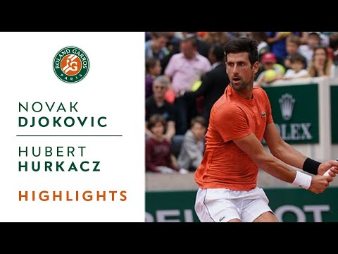 Novak Djokovic Vs Hubert Hurkacz - Round 1 Highlights | Roland-Garros 2019