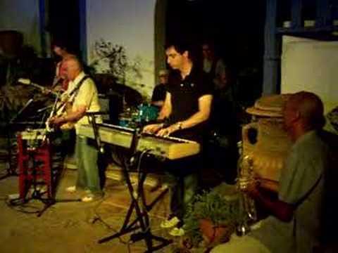Albert Cooper at Raco Verd, San Jose, Ibiza