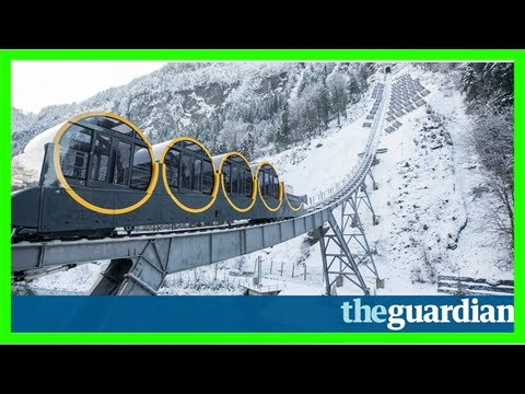 World's steepest funicular rail line to open in switzerland