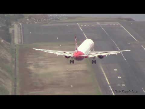 UNBELIEVABLE Final Turn in MADEIRA AIRPORT