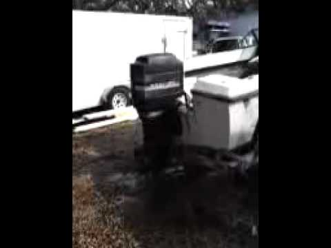 Mercury 135 hp 2 stroke outboard motor youtube for 2 2 mercury outboard motor