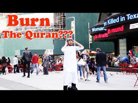 Burn The QURAN Experiment | Social Experiment