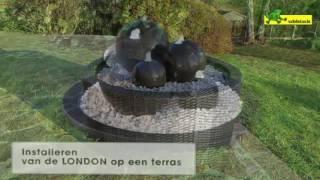 Installeren van Ubbink fontein LONDON