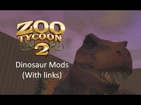 Zoo Tycoon 2 Dinosaur Mods With Links!