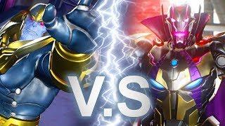 Marvel vs Capcom: Infinite - Thanos VS Ultron Sigma Battle Scene [FULL]