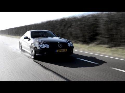 Mercedes Benz SL55 AMG Review - English Subtitled - Www Hartvoorautos.nl