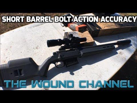 Is A Short Barrel Bolt Action Still Accurate? (Magpul Hunter 700)