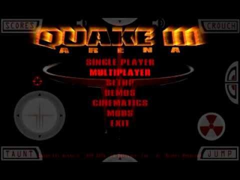 Обзор QUAKE 3 на ANDROID!!!!