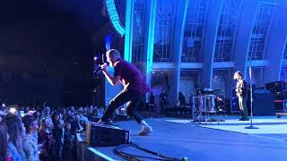 Imagine Dragons Evolve tour at the Hollywood Bowl
