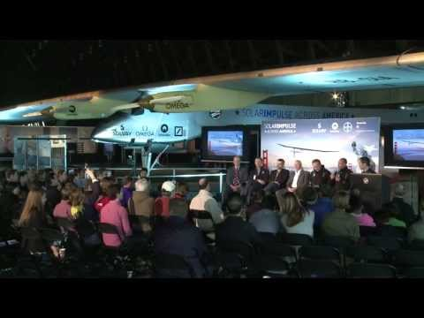 Solar Impulse - Conference & Panel Discussion in Moffett airfield