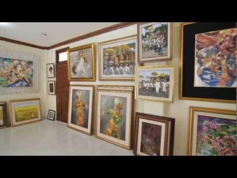 Tama Art Gallery, Campuhan, Ubud, Bali