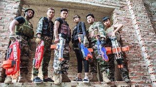 LTT Game Nerf War : Winter SEAL X Nerf Guns Fight Criminal Group Revenge Special Police