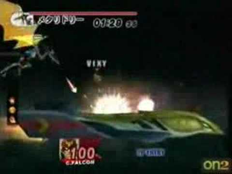 Super Smash Bros. Brawl: Meta Ridley (Played by Vixy-Chan)