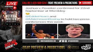 Video 🇬🇧Anthony Joshua vs🇷🇺Alexander Povetkin Collide💥9/22💣Wilder Frozen Out😱 download MP3, 3GP, MP4, WEBM, AVI, FLV Juli 2018