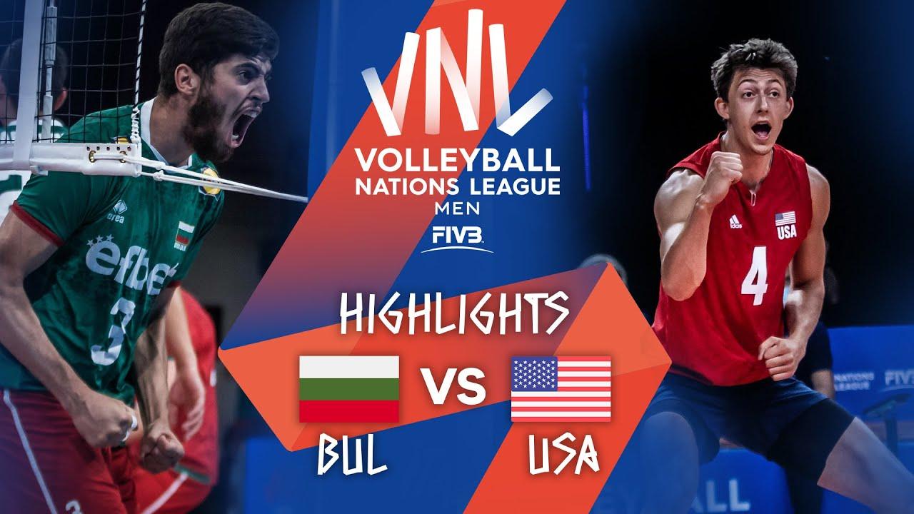 Download BUL vs. USA - Highlights Week 5   Men's VNL 2021
