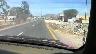 Camino a san Felipe gto  (desde refugio)