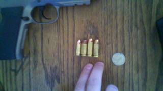 9mm luger vs 40 s vs 10mm auto vs 45 acp