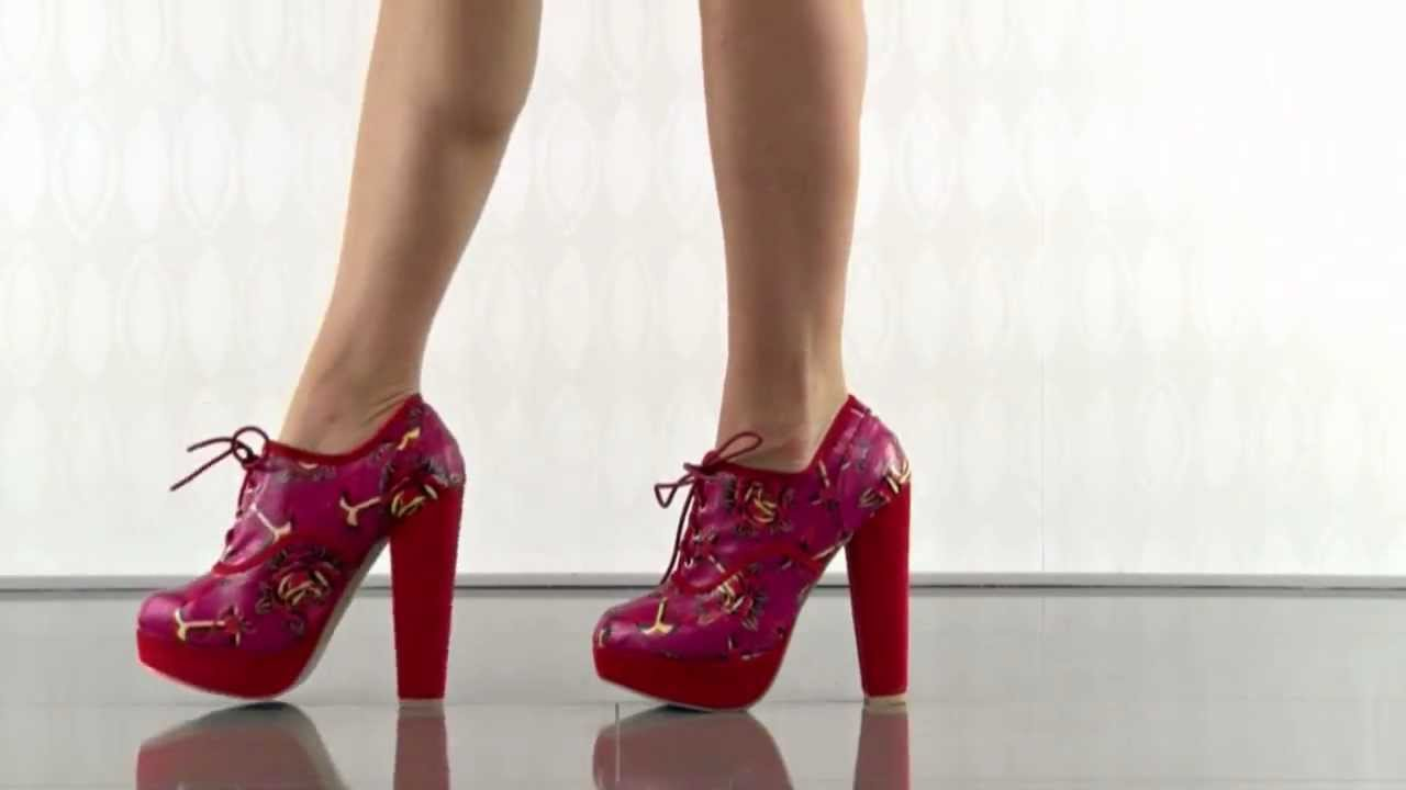 d6f1b77bcf96 Love Me Now Lace Up Platform in Pink Iron Fist - YouTube