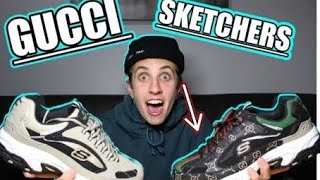 I Made Gucci Sketchers...