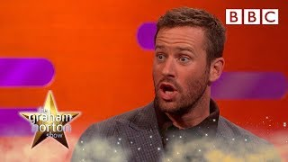 Why Armie Hammer made his wife CRY at Christmas  - BBC