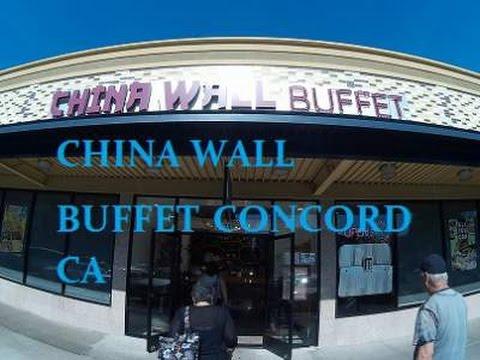 Vlog 24 China Wall Buffet Concord Ca