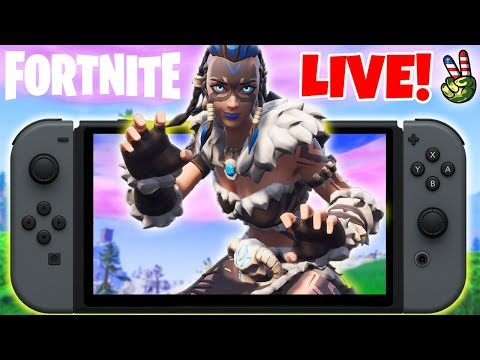 Pro Nintendo Switch Player! // Fastest Skin In Fortnite? // (Fortnite Battle Royale LIVE) thumbnail