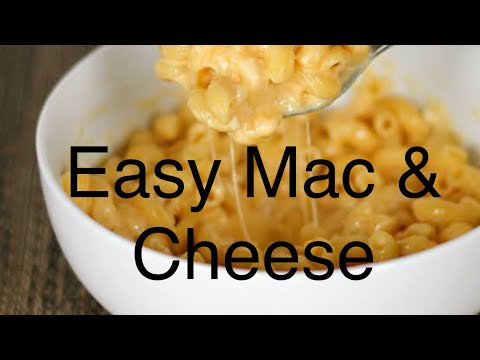 Kid's Easy Mac And Cheese