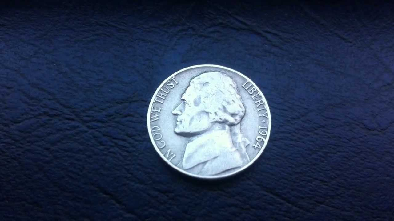Coins USA Nickel 1964 D Coin Aka Jefferson
