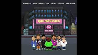 Sech Ft. Justin Quiles, Dalex, Nicky Jam, Maluma, Farruko, Lenny Tavárez - Que más pues Rmx (Audio)