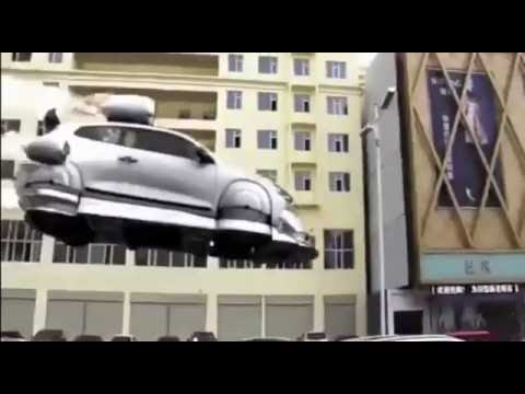 First flying car with jet engines made in China
