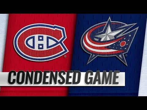 Montreal Canadiens vs Columbus Blue Jackets | Jan.18, 2019 | Game Highlights | NHL 2018/19 | Обзор