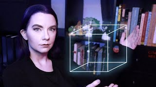 Going into depth on depth cues and perceptual organization, featuring the magical Necker cube