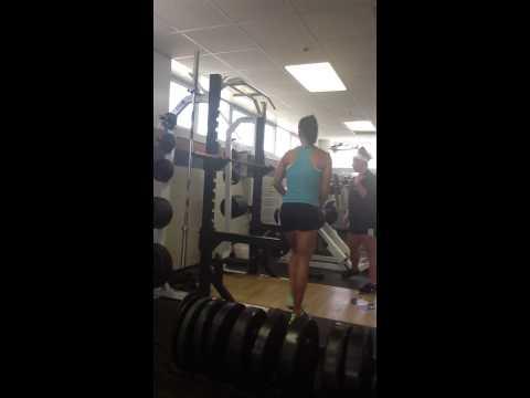 Judy Allen- front squat