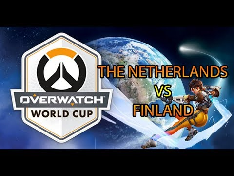 Full Match | The Netherlands VS Finland | 2019 Overwatch World Cup Preliminaries
