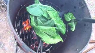 Poor Man's Dinner (collard Greens And Ham)