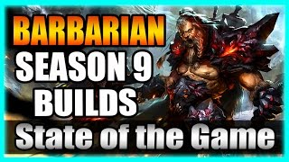 Barbarian Season 9 Builds - Diablo 3 State of the Game