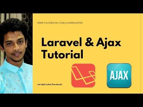 Laravel 5.7 & Ajax tutorial part : 3 (Json data read)