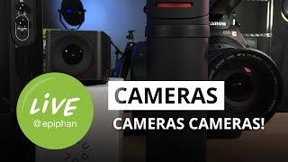 Cameras, cameras, cameras!