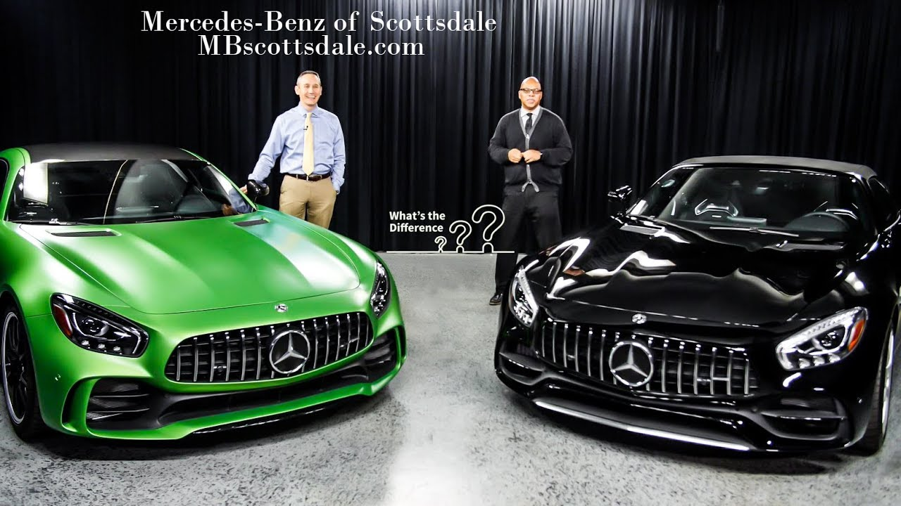 Mercedes Benz Of Scottsdale >> 2018 GTR/GT Comparison: The 2018 Mercedes-Benz AMG GT R ...