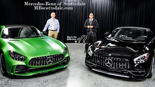 2018 GTR/GT Comparison:  The 2018 Mercedes-Benz AMG GT R and GT from Mercedes Benz of Scottsdale