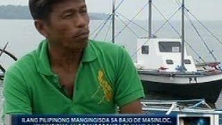 Ilang mangingisdang Pilipino, kinumpirmang binomba ng tubig ng Chinese Coast Guard